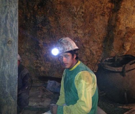 Minero joven