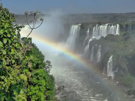 Panaoramic view of the falls