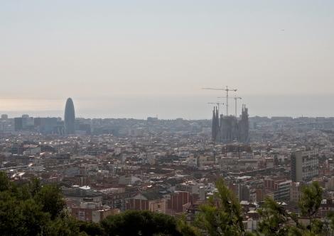 Barcelona's skyline