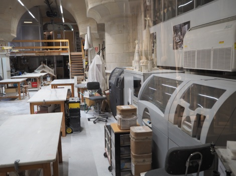 Current workshopp equipped with 3d printers and modern technologies