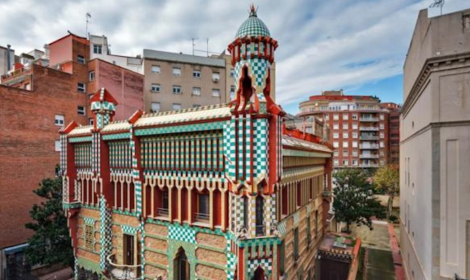 Casa Vicens, the first home created by Gaudi. Photo: infinitelegroom.com